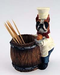 Boxer Toothpick Holder
