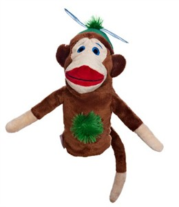 Boy Monkey Made Of Sockies Hybrid Headcover