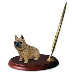 Brussels Griffon Pen Holder (Red)