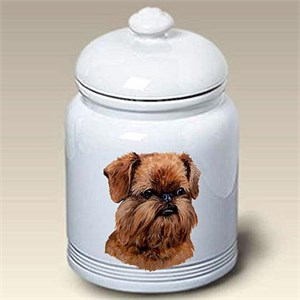 Brussels Griffon Treat Jar