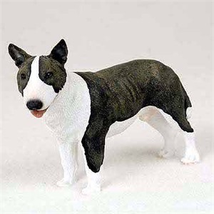 Bull Terrier Figurine Brindle