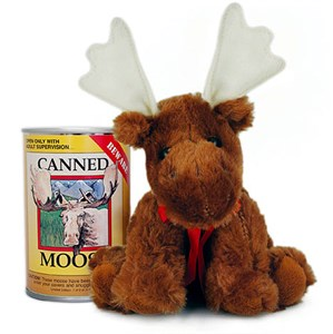 Moose Canned Critter