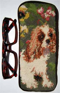 Cavalier King Charles Eyeglass Case