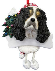 Cavalier King Charles Ornament (Tri Color)
