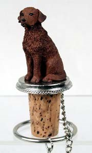Chesapeake Bay Retriever Bottle Stopper