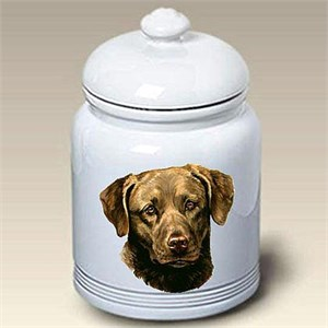Chesapeake Bay Retriever Treat Jar