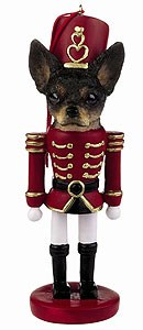Chihuahua Ornament Nutcracker