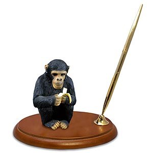 Chimpanzee Pen Holder