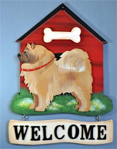 Chow Chow Welcome Sign