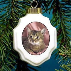 Abyssinian Cat Ornament
