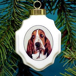 Basset Hound Ornaments