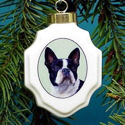 Boston Terrier Ornaments