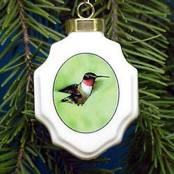Hummingbird Ornament