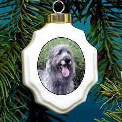 Irish Wolfhound Ornament