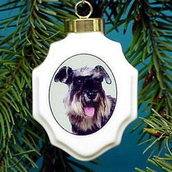 Schnauzer Ornament
