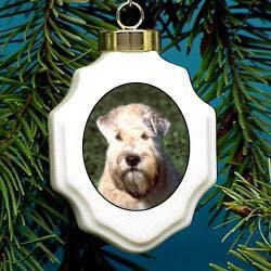 Wheaten Terrier Christmas Ornament