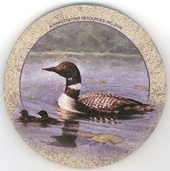 Loon Drink Coasters