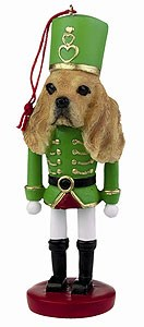 Cocker Spaniel Ornament Nutcracker