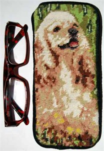 Cocker Spaniel Eyeglass Case