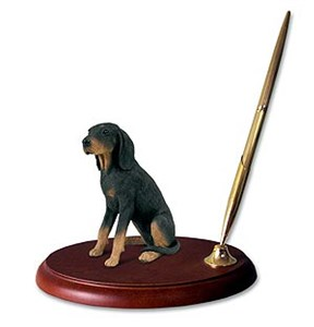 Coonhound Pen Holder