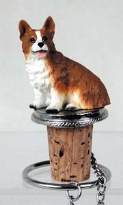 Corgi Bottle Stopper (Pembroke)