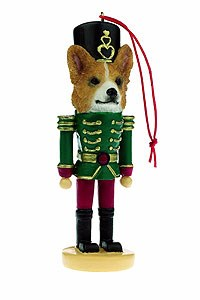 Corgi Ornament Nutcracker