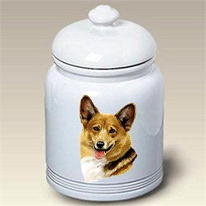 Corgi Pembroke Treat Jar