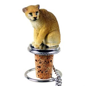 Cougar Bottle Stopper