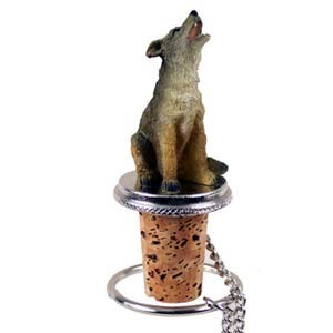 Coyote Bottle Stopper