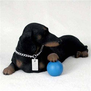 Dachshund Figurine Black MyDog