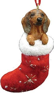 Dachshund Ornament (Red)