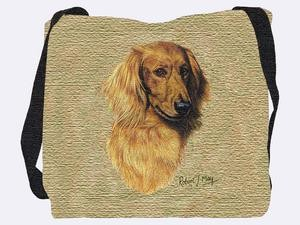 Dachshund Tote Bag (Longhaired)