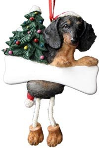 Dachshund Ornament (Black)