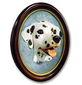 Dalmatian Sculptured Portrait