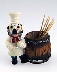 Dalmatian Toothpick Holder