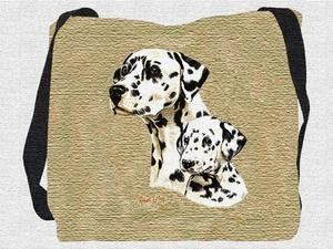 Dalmatian Tote Bag (Puppy)