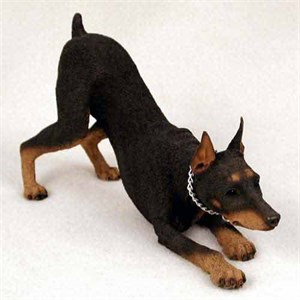 Doberman Figurine Red MyDog