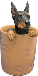 Doberman Pinscher Pencil Holder