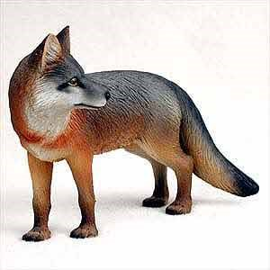 Fox Figurine Gray