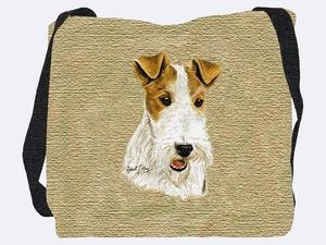 Fox Terrier Wire Tote Bag