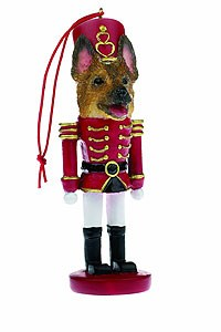 German Shepherd Ornament Nutcracker