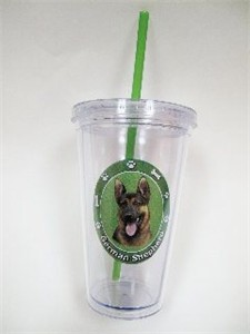 German Shepherd Tumbler