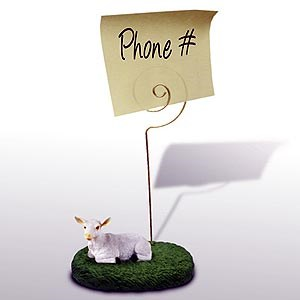 Goat Note Holder