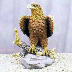 Golden Eagle Figurine