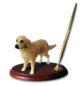 Golden Retriever Pen Holder