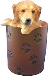 Golden Retriever Pencil Holder