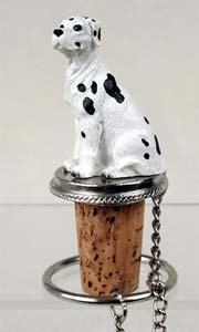 Great Dane Bottle Stopper (Harlequin Uncropped)