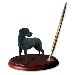 Great Dane Pen Holder (Black Uncropped)