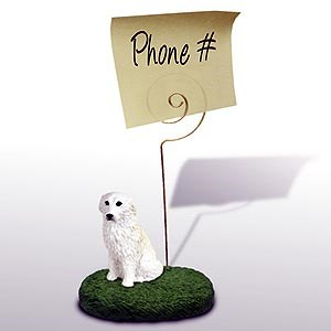 Great Pyrenees Note Holder
