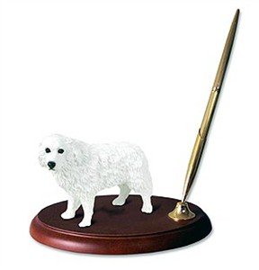 Great Pyrenees Pen Holder